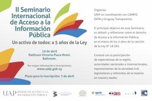 invitacion seminario Uruguay