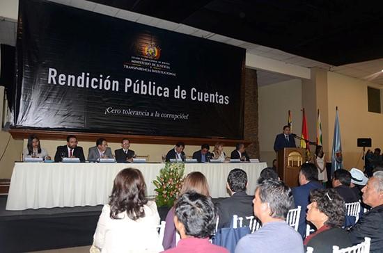 foto bolivia rendición de cuentas